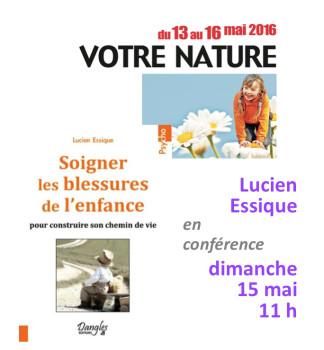 Conférence au Salon Vivez Nature